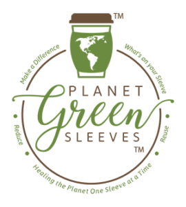 Planet Green Sleeves Logo m