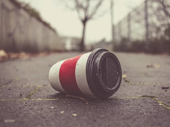 waste cup image